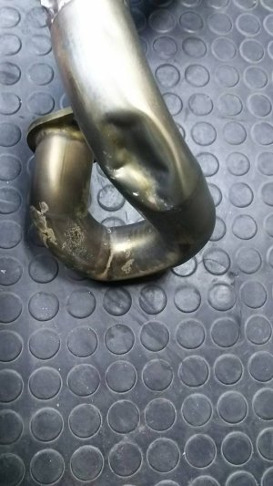 画像1: エキパイ(チャンバー/サイレンサー)凹み修理