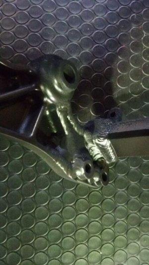 画像5: RTL250/260F・COTA4RT フレームステップブラケット補強加工