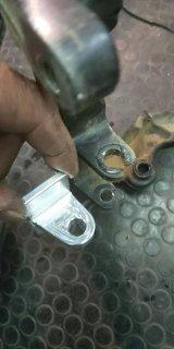 NN4 フレーム エンジンステー修理