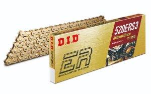 画像1: DID ダイドー:ERシリーズチェーン 520ERS3 ゴールド (トライアル競技向け)  【ジョイントタイプ:RJ・クリップタイプ】